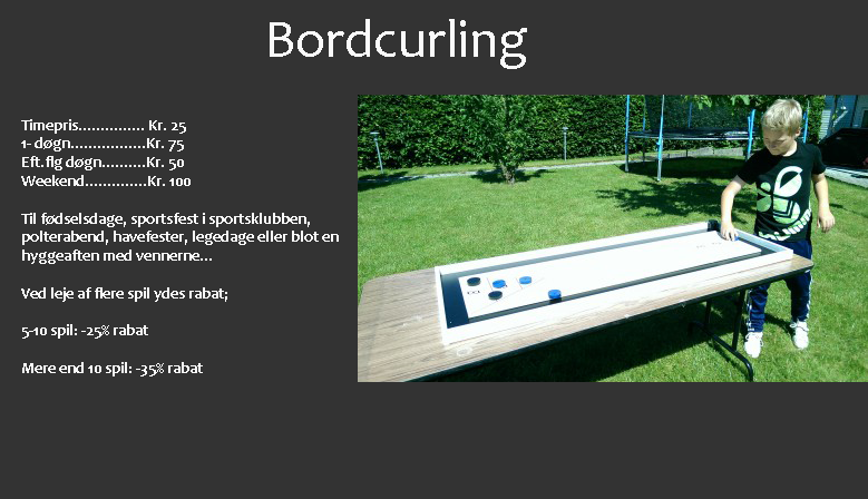 Bordcurling